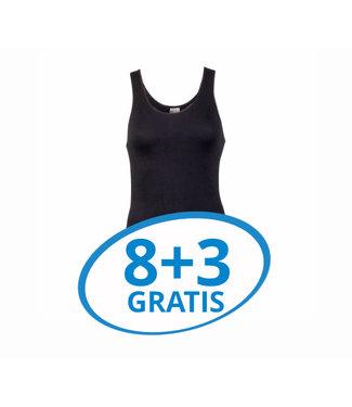 Beeren Dames Comfort Feeling Hemd Zwart Voordeelpack C