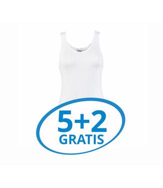 Beeren Dames Comfort Feeling Hemd Wit Voordeelpack B