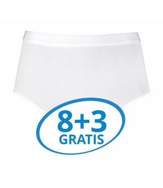 Beeren Dames Tailleslip Young Wit Voordeelpack C