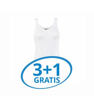 Beeren Dames Comfort Feeling Hemd Wit Voordeelpack A