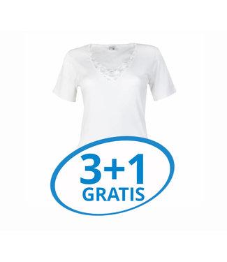 Beeren Dames T-Shirt Beatrix Wit Voordeelpack A