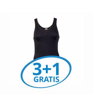 Beeren Dames Comfort Feeling Hemd Zwart Voordeelpack A