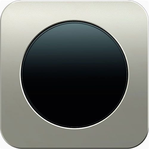 R1 edelstaal zwart