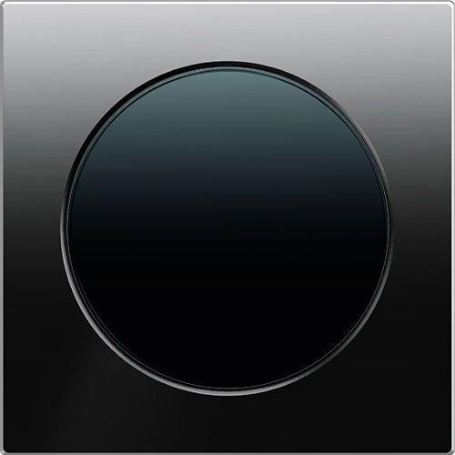 R3 glas zwart