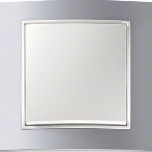 B3 aluminium/wit mat