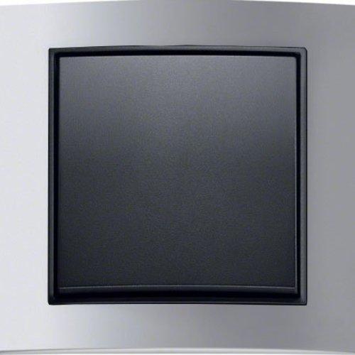 B3 aluminium/antraciet mat