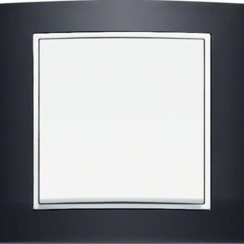 B3 zwart aluminium/wit mat