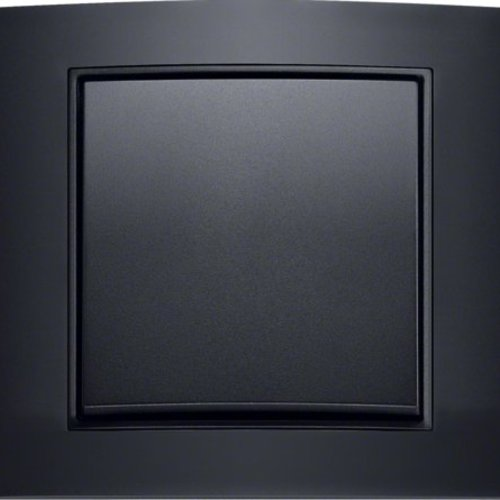 B3 zwart aluminium/antraciet mat