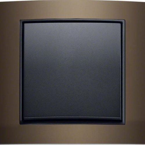 B3 bruin aluminium/antraciet mat