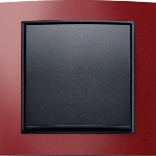 B3 rood aluminium/antraciet mat