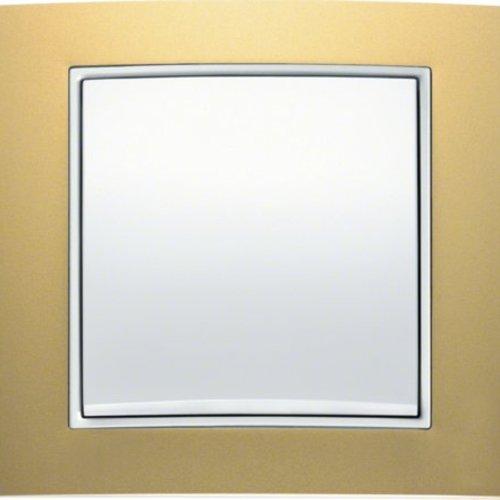 B3 goud aluminium/wit mat
