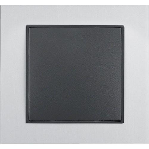 B7 aluminium/antraciet mat