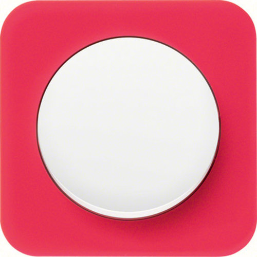 R1 transparant rood acryl wit