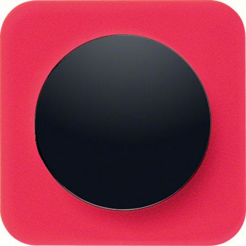 R1 transparant rood acryl zwart