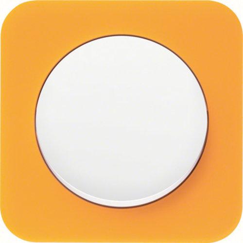R1 transparant oranje acryl wit