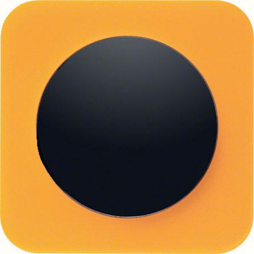R1 transparant oranje acryl zwart