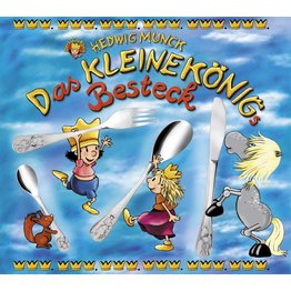 """Kinderbesteck """"Der kleine König"""""""