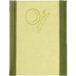 """Speisenkarte """"Culinaria"""" A4 moosgrün-limette"""