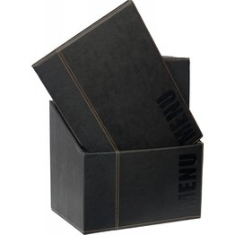 "Speisenkarten-Box ""Elite"" | Set schwarz"