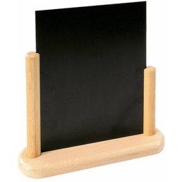 Tischtafel inkl. Gestell aus Holz natur A5