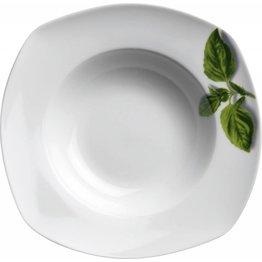 """Pastateller """"Basilikum"""" Ø 30 cm, quadratisch"""