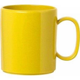 "Becher ""Colour"" mit Henkel 0,325L Kunststoff PBT  gelb"