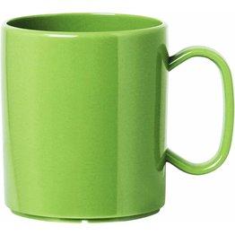 """Becher """"Colour"""" mit Henkel 0,325L Kunststoff PBT  grün"""