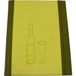 "Getränkekarte ""Culinaria"" A4 moosgrün-limette"