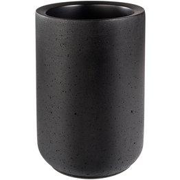 """Flaschenkühler """"Element"""" Beton schwarz - NEU"""