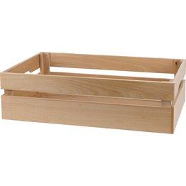 Holzbox aus Buchenholz - NEU