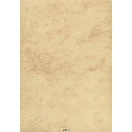 "Marmorpapier ""Classic"" Chamois A5 100 Blatt"