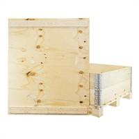 Deckel für Holzaufsatzrahmen, 2 Befestigungsleisten, 1200x1000x9,5mm