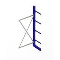 Anbaufeld für Kragarmregal, einseitig, 1000x500x2500mm