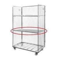 Zwischenboden aus Metall für Rollbehälter, 1145x650mm
