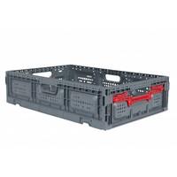 Kunststoffbox, perforiert, faltbar, 31 l, 600x400x150mm