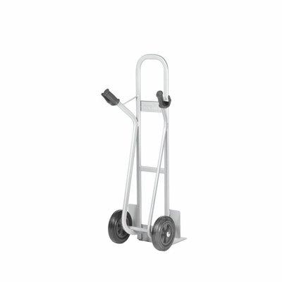 Matador Sackkarre für Kisten, Matador NST-300V, Vollgummi Reifen, feste Schaufel 285x240mm