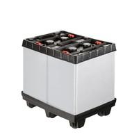 Palettenbox aus Kunststoff, faltbar, 810x612x765mm