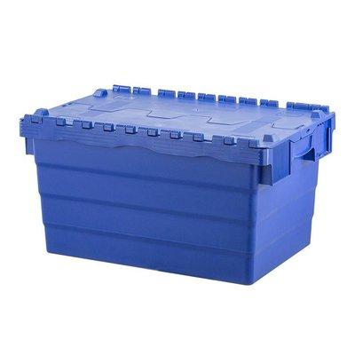 Kunststoffbehälter, 60 l, stapelbar, nestbar, 600x400x320mm