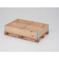Rotom Aufsatzrahmenteiler, Trennwand, 2 Schlitze, 960x12x200mm