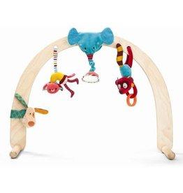 Lilliputiens Cirque set de hochets à suspendre