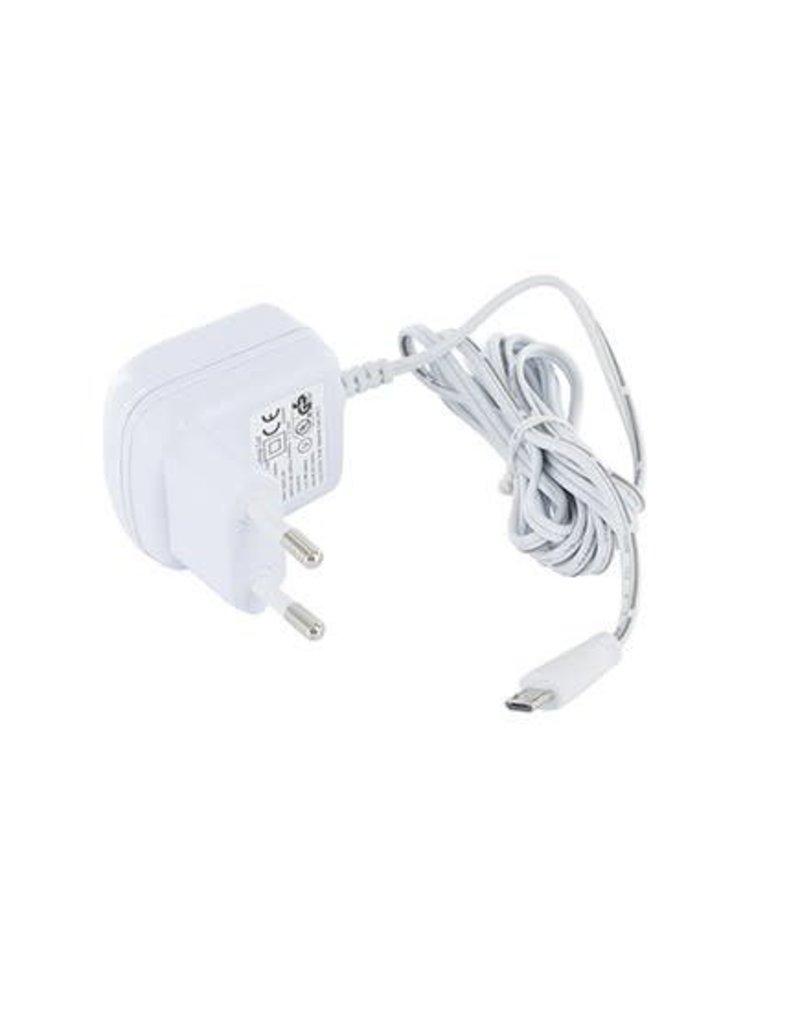 Babymoov Adaptateur Blanc 5V-600mA-Micro USB convient à tous les babyphones audio