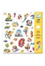 Djeco 160 Stickers, Sirène