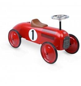 Vilac Porteur voiture vintage rouge
