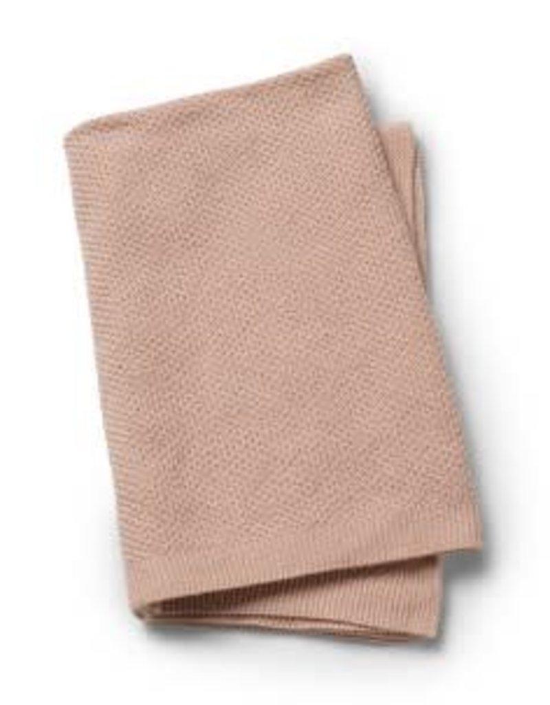 Elodie Details Couverture tricotée Powder Pink