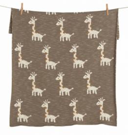 QUAX Couverture Giraf tricot