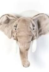 Wild ans soft Trophée éléphant clair George