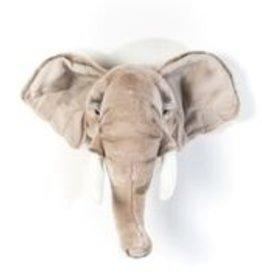 Wild & Soft Trophée éléphant clair George