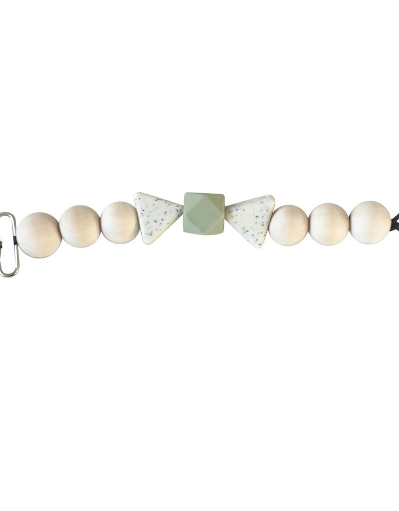 Pacifier clips - Stone Green
