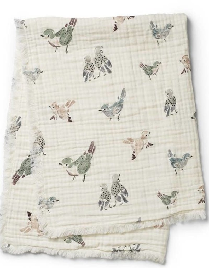 Elodie Details COUVERTURE FEATHERED FRIENDS