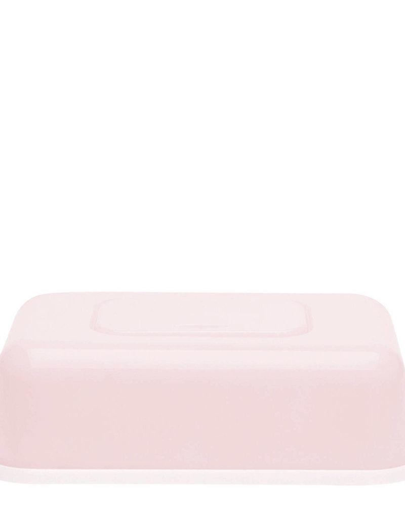 Boîte mouchoire/lingettes rose